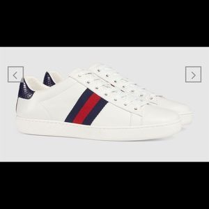Gucci Women's Ace Leather Sneakers